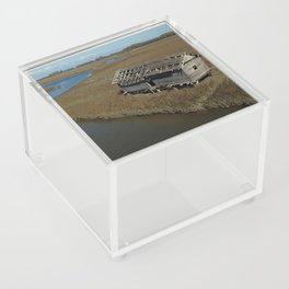 Bald Head Creek Boathouse | Bald Head Island, NC Acrylic Box