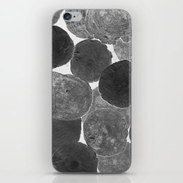 Abstract Gray iPhone Skin