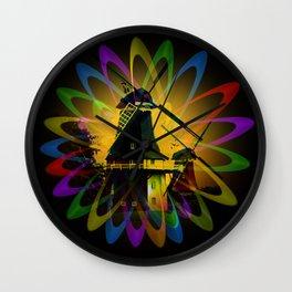 Windmills - Greetsiel Wall Clock