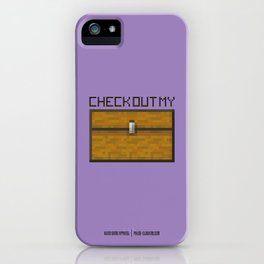 PAUSE – Check out my Chest iPhone Case
