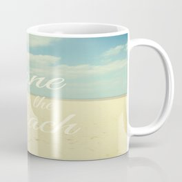 Gone To The Beach Coffee Mug