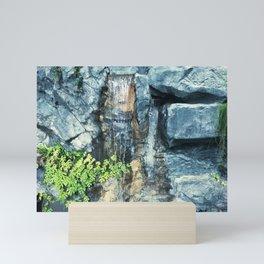 Waterfall Garden Mini Art Print