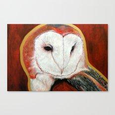 Dos Owl Canvas Print