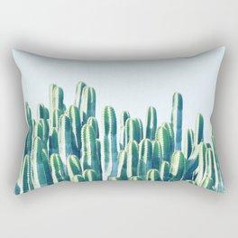 Cactus V2 #society6 #decor #fashion #tech #designerwear Rectangular Pillow