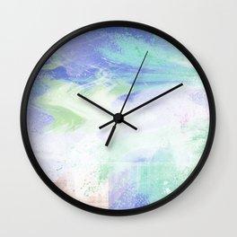 Reflection of Tear Brush No.1 Wall Clock