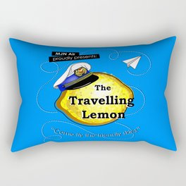 The Travelling Lemon Rectangular Pillow