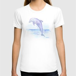 Dolphin Watercolor T-shirt