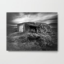 abandoned wheels Metal Print