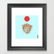 Hermes Framed Art Print