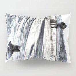 The Waiting Game Art Pillow Sham