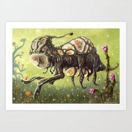 Overslork Art Print