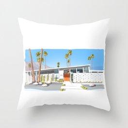 Palm Springs 1178 Throw Pillow