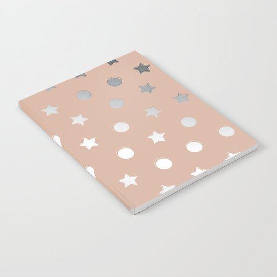 Silver Confetti Notebook