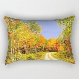 Fall Colors Maine Rectangular Pillow