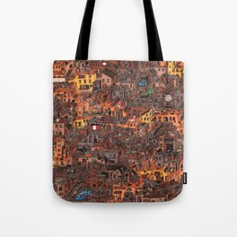 Gold Favela Tote Bag