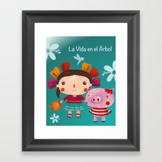 Lolita and friends Framed Art Print