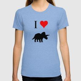 I Love Dinosaurs - Triceratops T-shirt