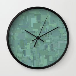 Series 8 - Oxidized Wall Clock