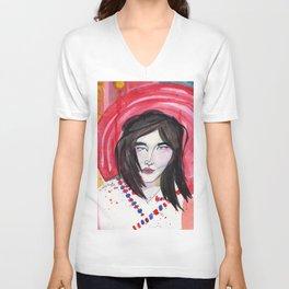 Björk Unisex V-Neck