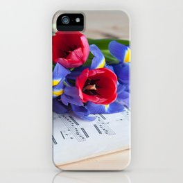 Musical Mood iPhone Case