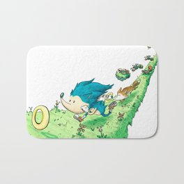 Starring Sonic and Miles 'Tails' Prower (Alt.) Bath Mat
