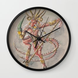Verminlord Wall Clock