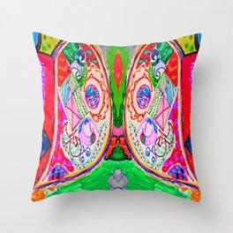Pop Angel by Elisavet Throw Pillow