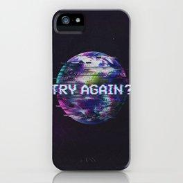 Humanity Glitch iPhone Case