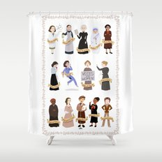 Women in History Shower Curtain