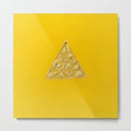 Tortilla Chip Metal Print