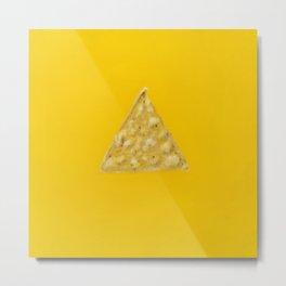 Tortilla Chip Metal Print