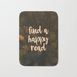 Find a happy road Bath Mat