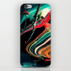 ABSTRACT COLORFUL PAINTING II-A iPhone Skin