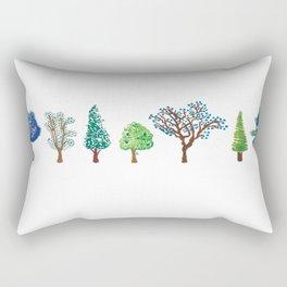 Summer trees Rectangular Pillow