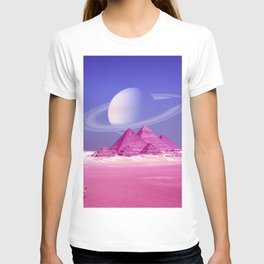 Pyramids, Saturn & the Desert T-shirt
