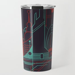 From the Subway to the Sky (at Night) Travel Mug