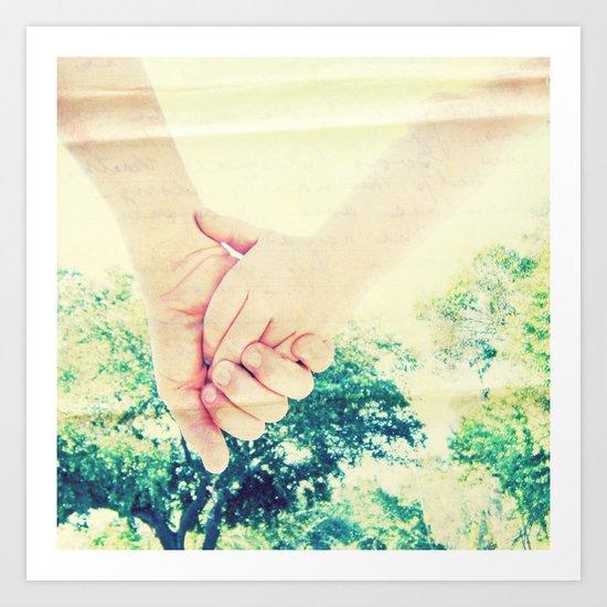 """Don't Let Go"" Art Print"