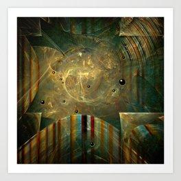 Abstractus Art Print