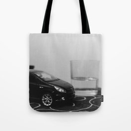 little driver and it's tiny ocean, toys landscape, urban toys Tote Bag