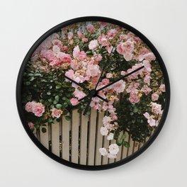 LES FLEURS II Wall Clock