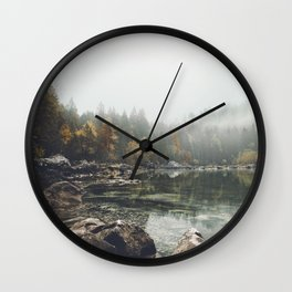 Serenity - Landscape Photography Wall Clock