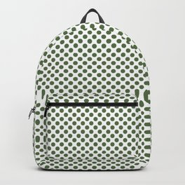 Kale Polka Dots Backpack