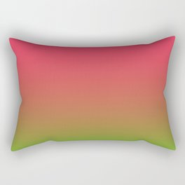 Fuchsia and Lime Gradient Rectangular Pillow