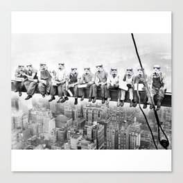 Star war| new york workers Canvas Print