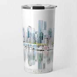 Vancouver Skyline Travel Mug