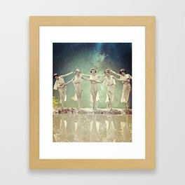 Connections... Framed Art Print