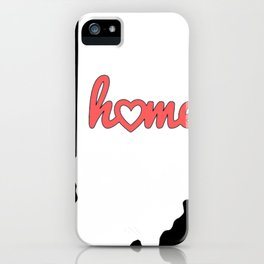 Indiana Is My Home USA State Pride iPhone Case
