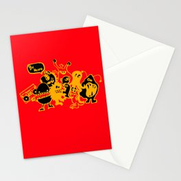 Monsters Want To Be Heard Too Stationery Cards