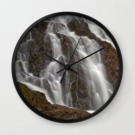 Hays Cascading Falls Wall Clock