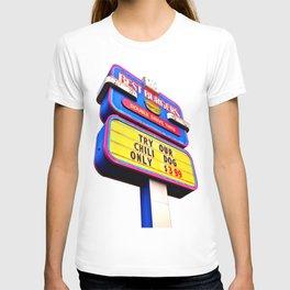 Best Burgers Sign T-shirt